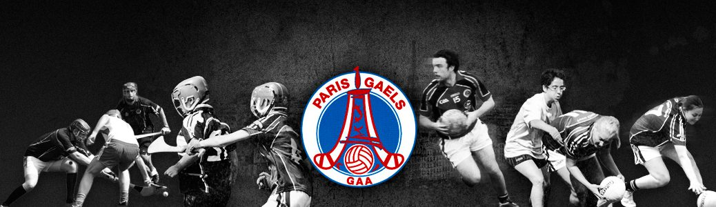Paris Gaels GAA website banner